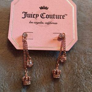 Juicy couture dangling earrings